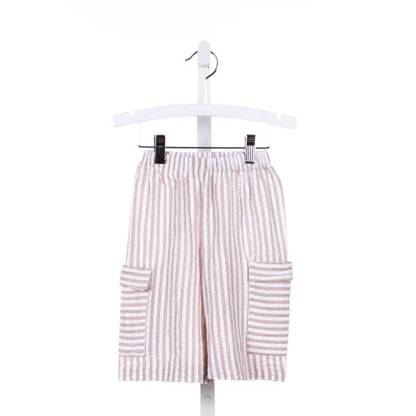 NAIN & JOE BROWN STRIPED SEERSUCKER SHORTS