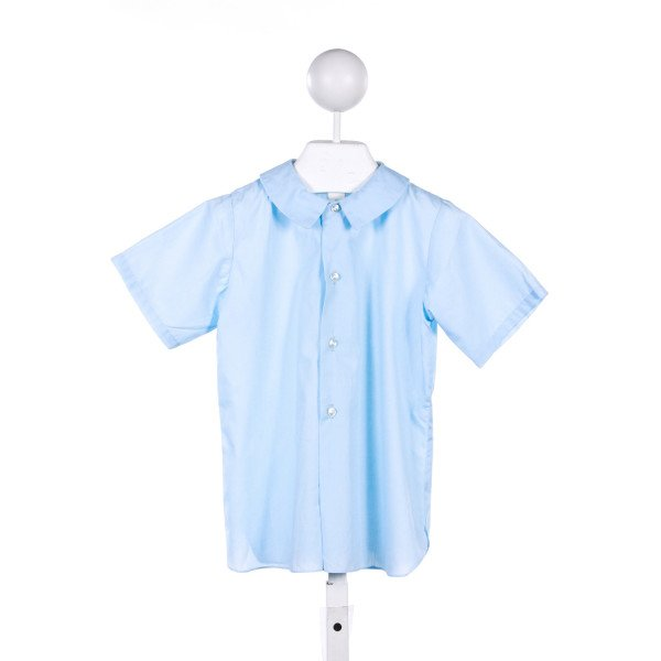 IMP BLUE BUTTON DOWN TOP *FAINT SPOT ON FRONT