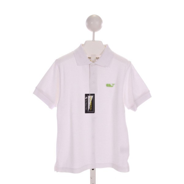 UNIVERSAL  OFF-WHITE   EMBROIDERED CLOTH SS SHIRT