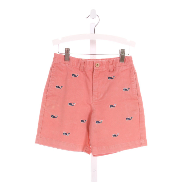 VINEYARD VINES  PINK   EMBROIDERED SHORTS