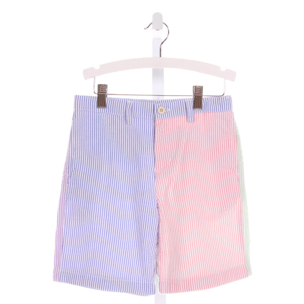 VINEYARD VINES  MULTI-COLOR SEERSUCKER STRIPED  SHORTS