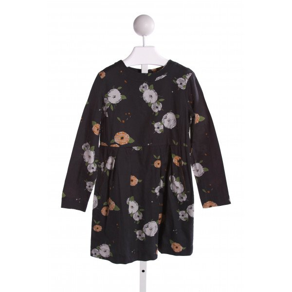 BONPOINT  MULTI-COLOR  FLORAL  DRESS