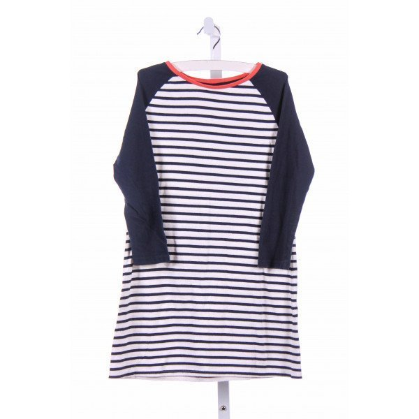 JOHNNIE-B  BLUE  STRIPED  CASUAL DRESS