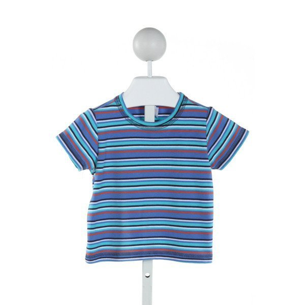 ZUTANO  BLUE  STRIPED  T-SHIRT