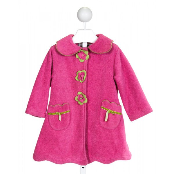WIDGEON  HOT PINK   APPLIQUED OUTERWEAR