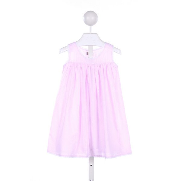 ROYAL KIDZ PINK GINGHAM DRESS WITH LACE TRIM