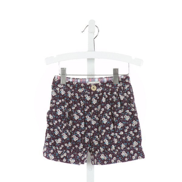 MATILDA JANE  PURPLE CORDUROY FLORAL  SHORTS