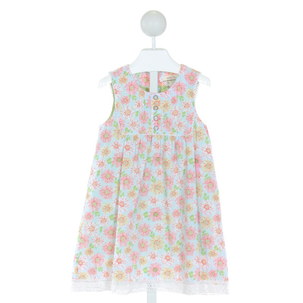 MATILDA JANE  LT BLUE  FLORAL  DRESS