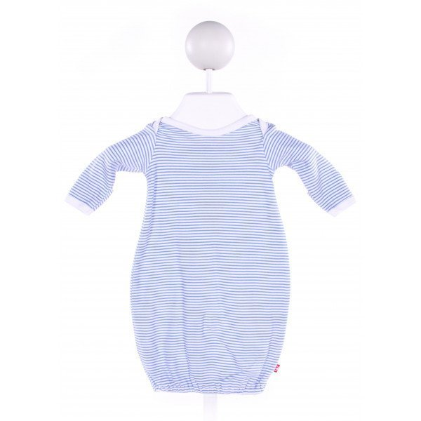 ZUTANO  BLUE  STRIPED  LAYETTE