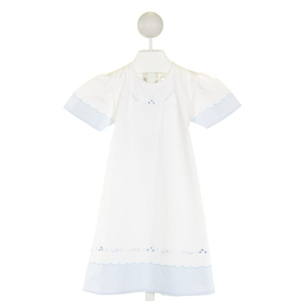 DONDOLO  IVORY   EMBROIDERED DRESS