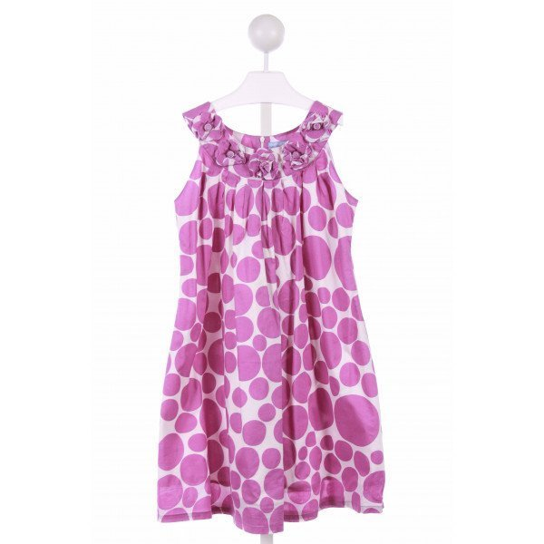 WILLOUGHBY  PURPLE  POLKA DOT  CASUAL DRESS