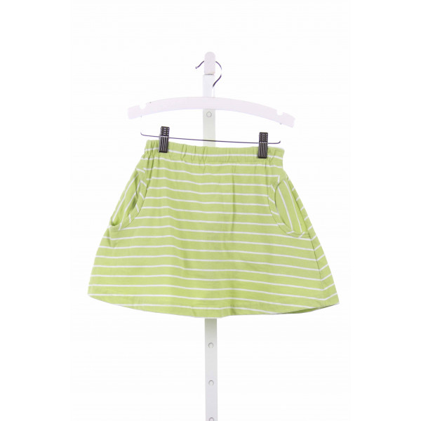 CHEZ AMI  LIME GREEN  STRIPED  SKORT