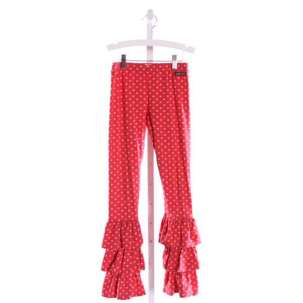MATILDA JANE  MULTI-COLOR  POLKA DOT  PANTS WITH RUFFLE