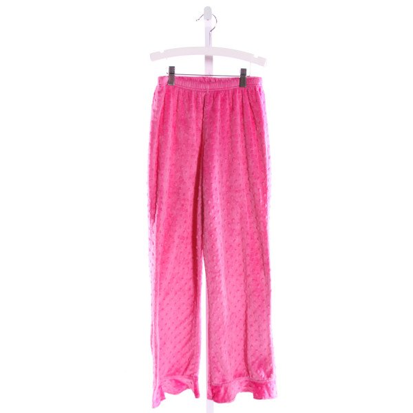 CHEZ AMI  PINK MINKY DOT   PANTS WITH RUFFLE