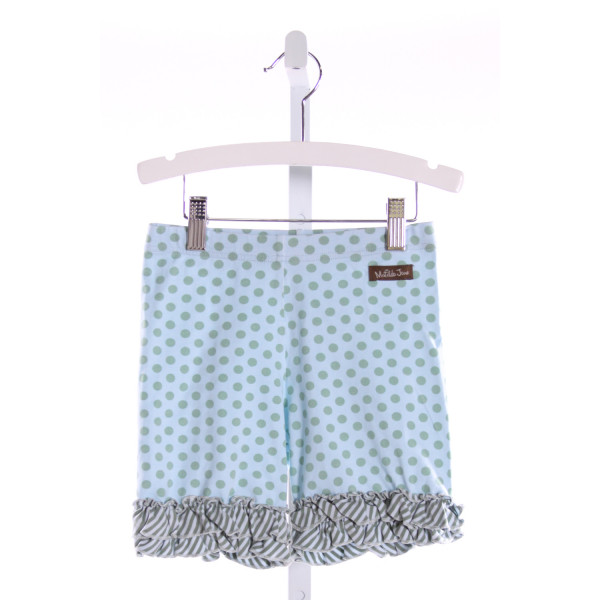 MATILDA JANE  MULTI-COLOR  POLKA DOT  SHORTS WITH RUFFLE