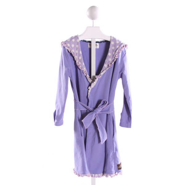 MATILDA JANE  PURPLE  POLKA DOT  OUTERWEAR WITH RUFFLE