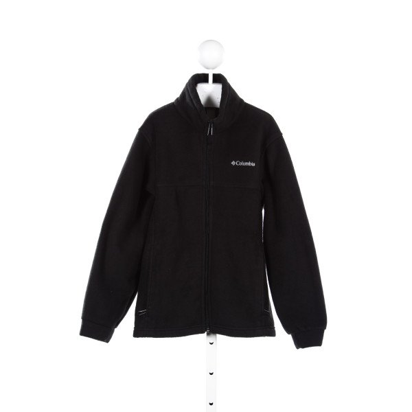 COLUMBIA BLACK FLEECE JACKET *SIZE 10/12