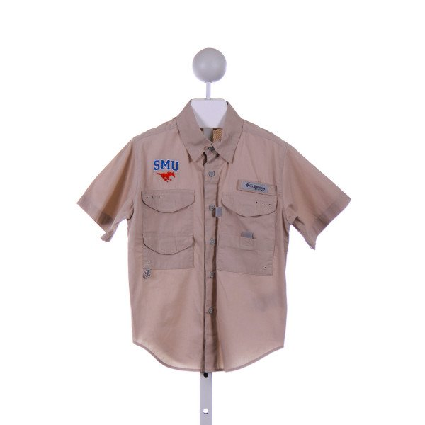 COLUMBIA  KHAKI    CLOTH SS SHIRT