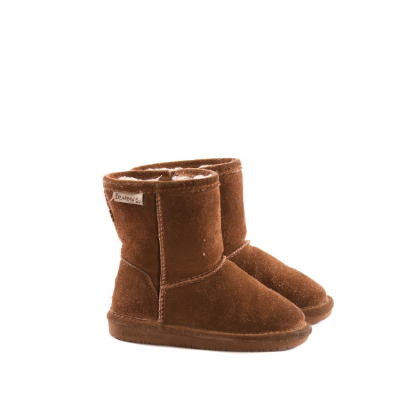 BEARPAW BROWN BOOTS *SIZE 9, VGU - VERY MINOR WEAR