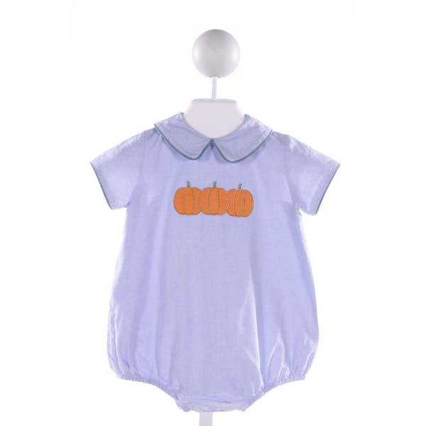 DONDOLO  BLUE   EMBROIDERED BUBBLE