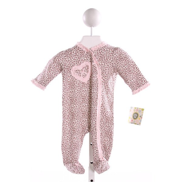 LITTLE ME  MULTI-COLOR  PRINT EMBROIDERED LAYETTE WITH RUFFLE