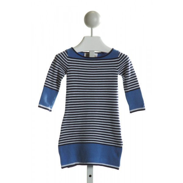 SAIL TO SABLE  BLUE  STRIPED  DRESS