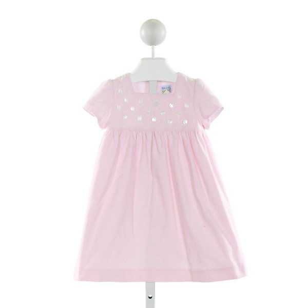LULI & ME  PINK CORDUROY   DRESS