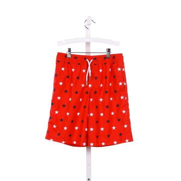 SOUTHERN TIDE RED STAR PRINT SWIM SHORTS *SIZE M RUNS LIKE A SIZE 11