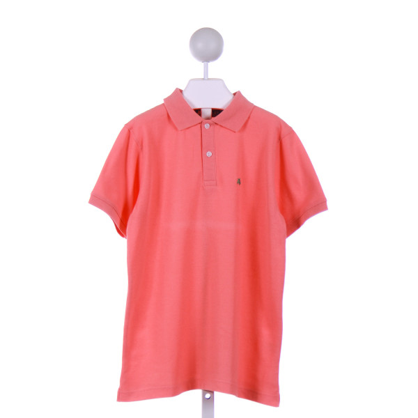 J. BAILEY  ORANGE    KNIT SS SHIRT