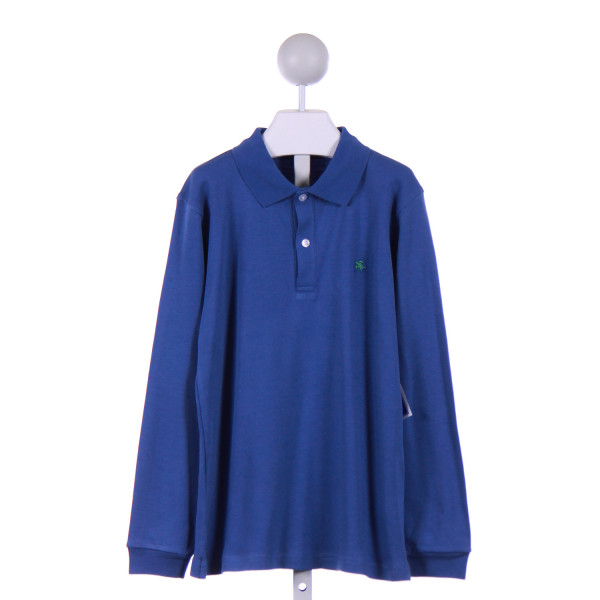 J. BAILEY  BLUE    KNIT LS SHIRT