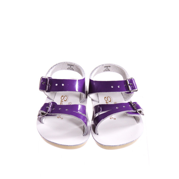 SUN SUNS/SALTWATER PURPLE SANDALS