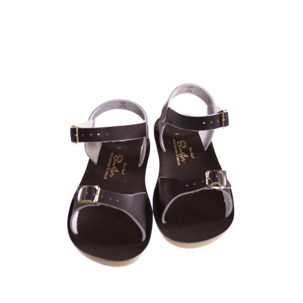 SUN SUNS/SALTWATER BROWN SANDALS