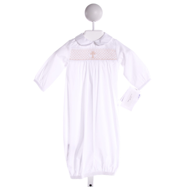 BAILEY BOYS  WHITE   SMOCKED LAYETTE