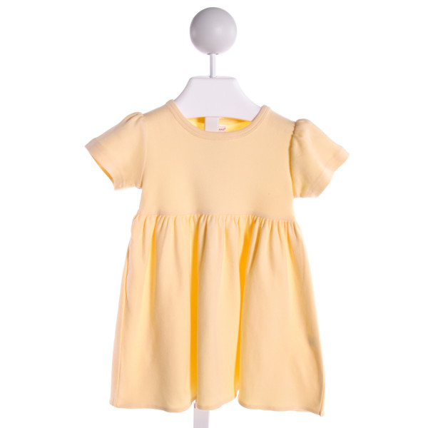 MONAG  YELLOW    KNIT DRESS