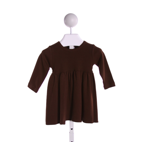 MONAG  BROWN    KNIT DRESS