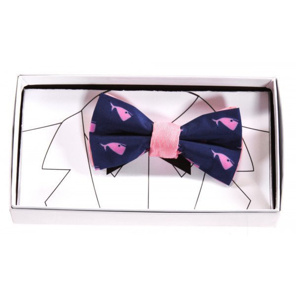 BROBOW  ROYAL BLUE   PRINTED DESIGN ACCESSORIES - BELT/TIES
