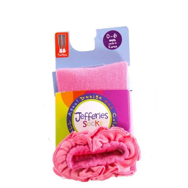 JEFFERIES   HOT PINK    ACCESSORIES - SOCKS/TIGHTS WITH RUFFLE