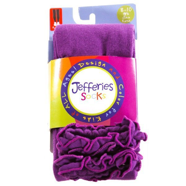 JEFFERIES   PURPLE    ACCESSORIES - SOCKS/TIGHTS WITH RUFFLE