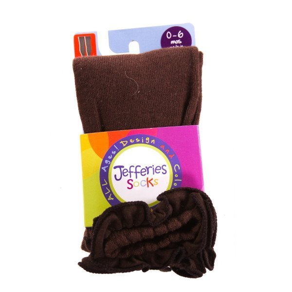 JEFFERIES   BROWN    ACCESSORIES - SOCKS/TIGHTS WITH RUFFLE