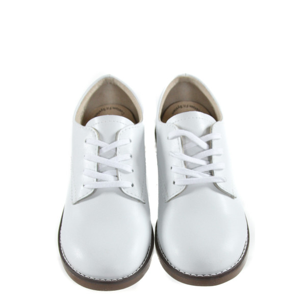 WHITE LEATHER FOOTMATES *SIZE 1, NWT