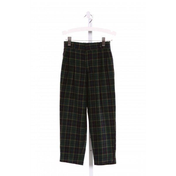 IMP  MULTI-COLOR  PLAID  PANTS