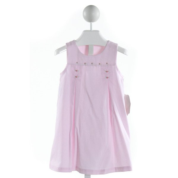REMEMBER NGUYEN  PINK   EMBROIDERED DRESS