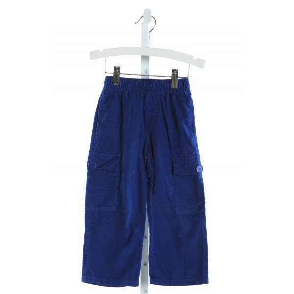 KELLY'S KIDS  ROYAL BLUE CORDUROY   PANTS