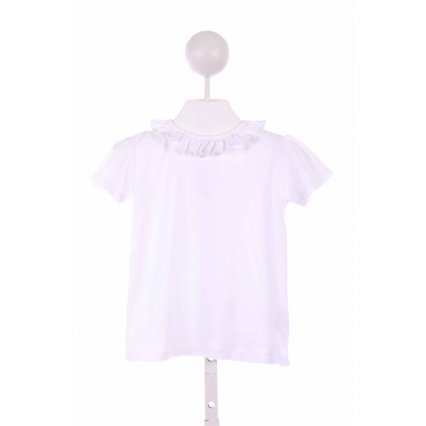 PENNYMEADE  WHITE    KNIT SS SHIRT