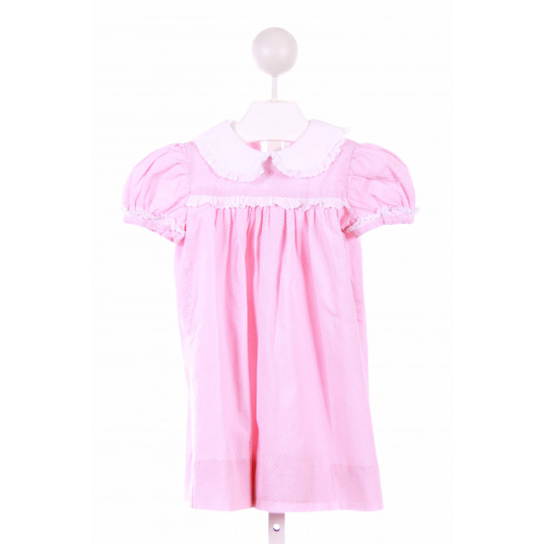 PBJ  PINK PIQUE POLKA DOT  CASUAL DRESS