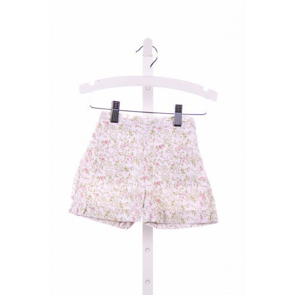 PENNYMEADE  WHITE  FLORAL  SHORTS