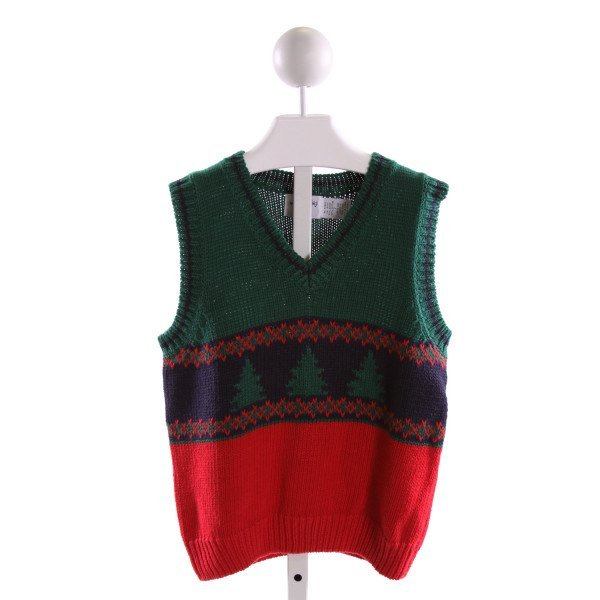 KITESTRINGS  MULTI-COLOR   PRINTED DESIGN SWEATER VEST