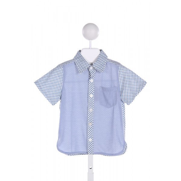 SIAOMINI  MULTI-COLOR  POLKA DOT  CLOTH SS SHIRT