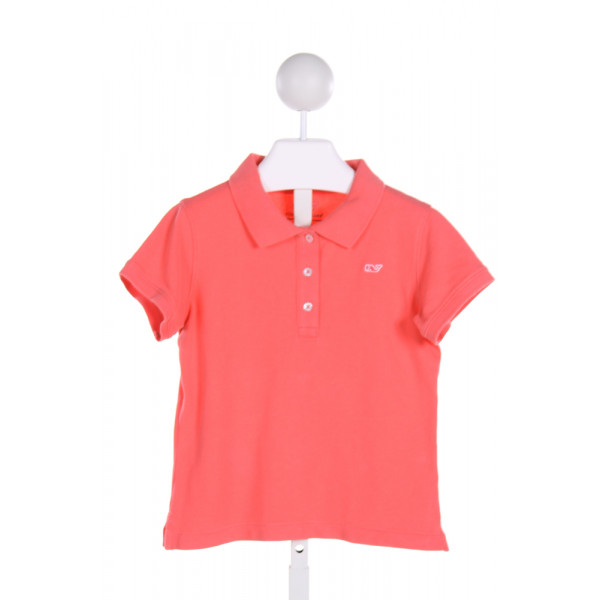 VINEYARD VINES  PINK    KNIT SS SHIRT