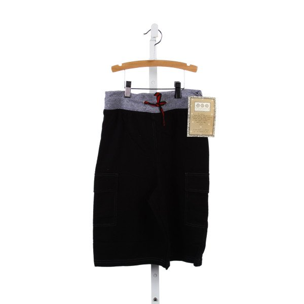 TUMBLEWEED BLACK KNIT SHORTS